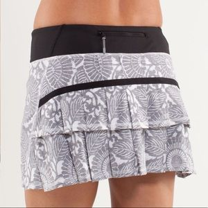 Lululemon Run: Pace Setter Skirt Beachy Floral 2